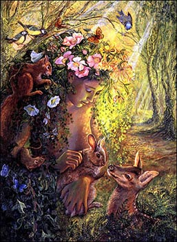 Josephine Wall - WOOD NYMPH